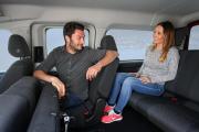 Volkswagen Caddy GNC 7 plazas