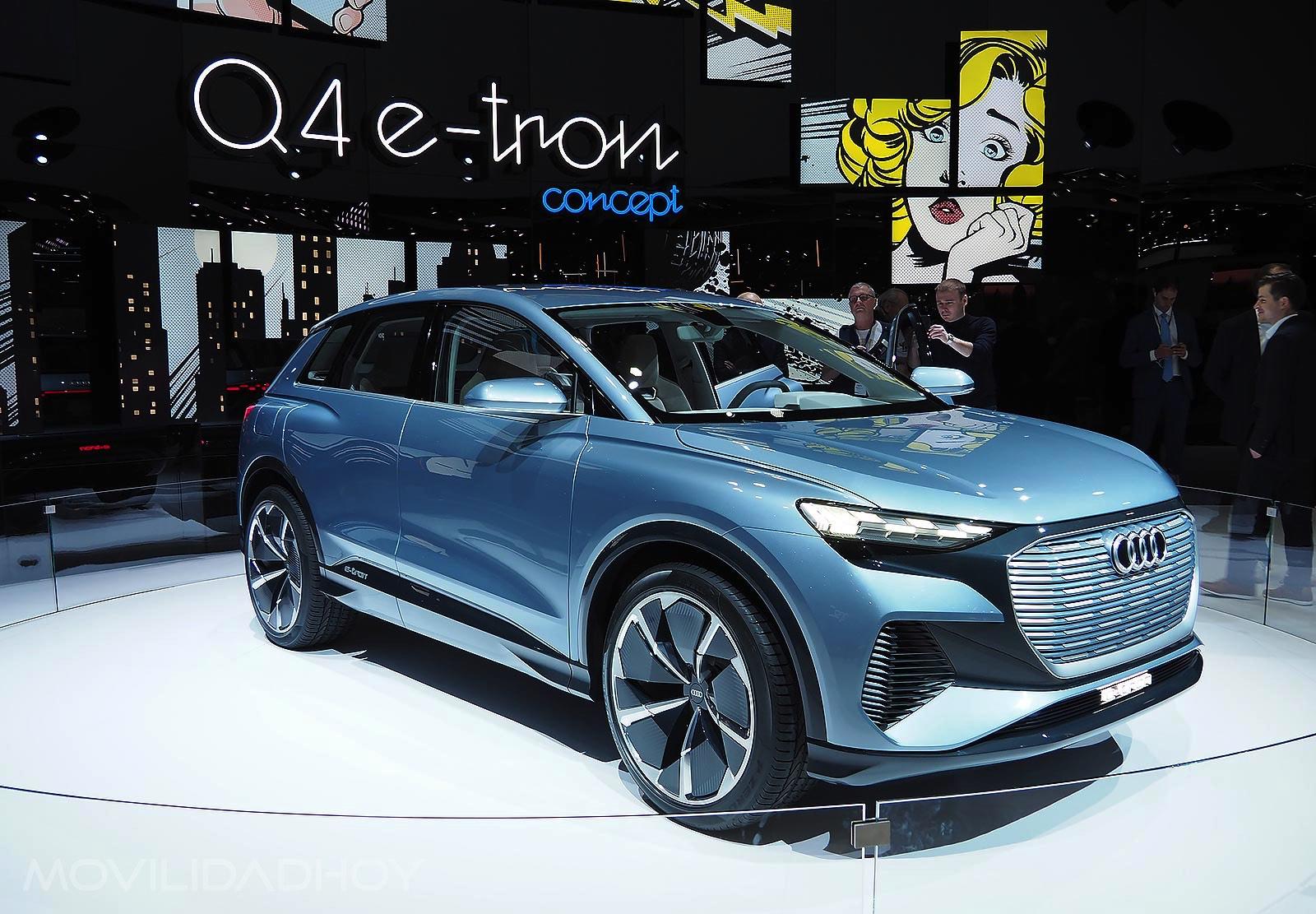 Audi A4 e-tron Concept