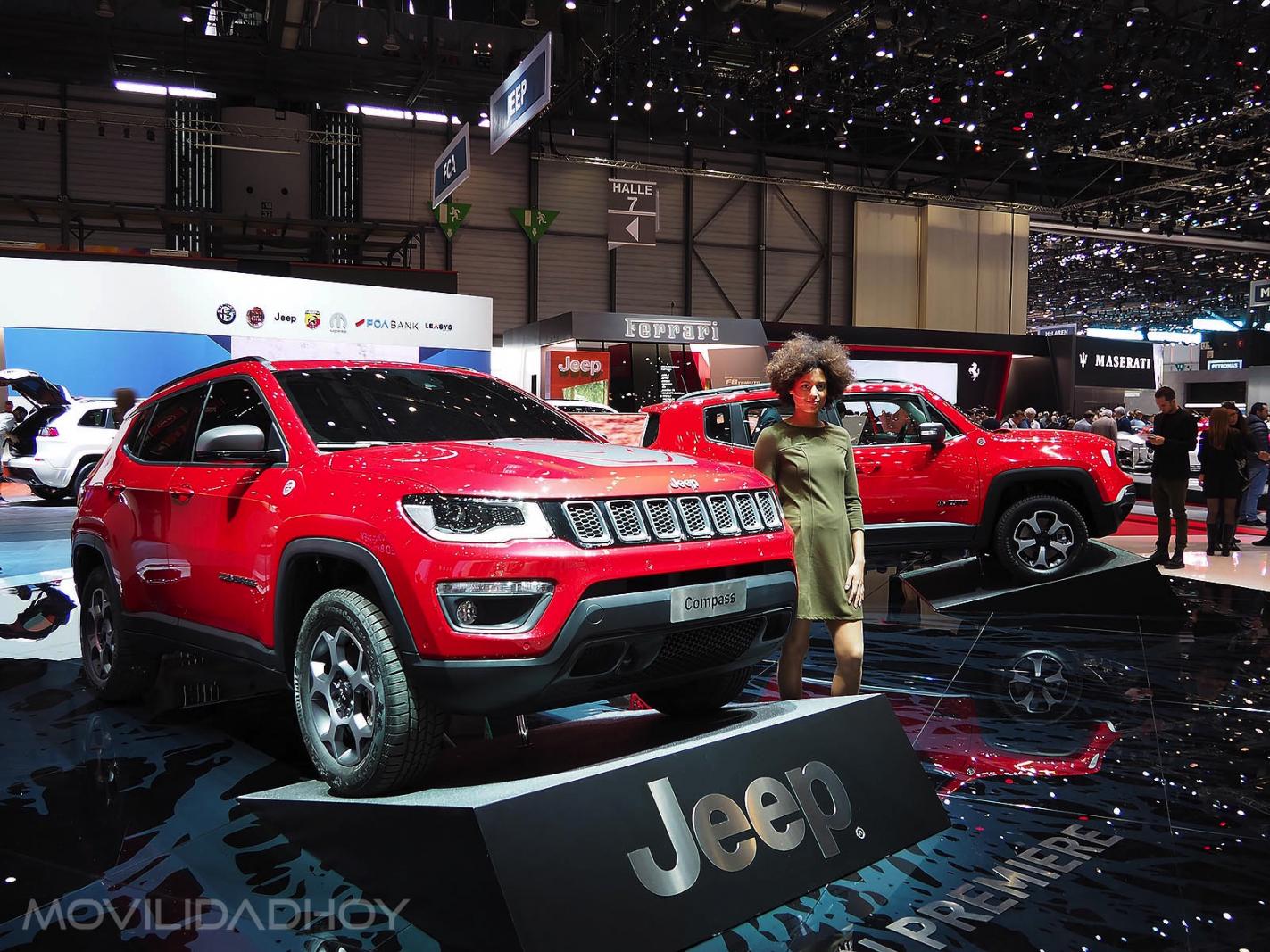 Jeep Compass PHEV y Jeep Renegade PHEV
