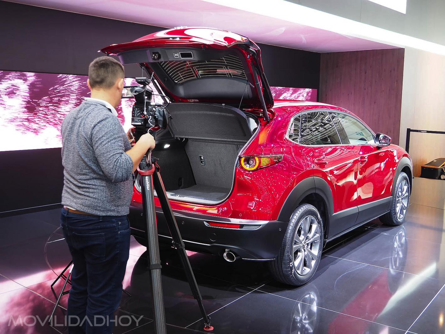 Mazda CX-30 maletero