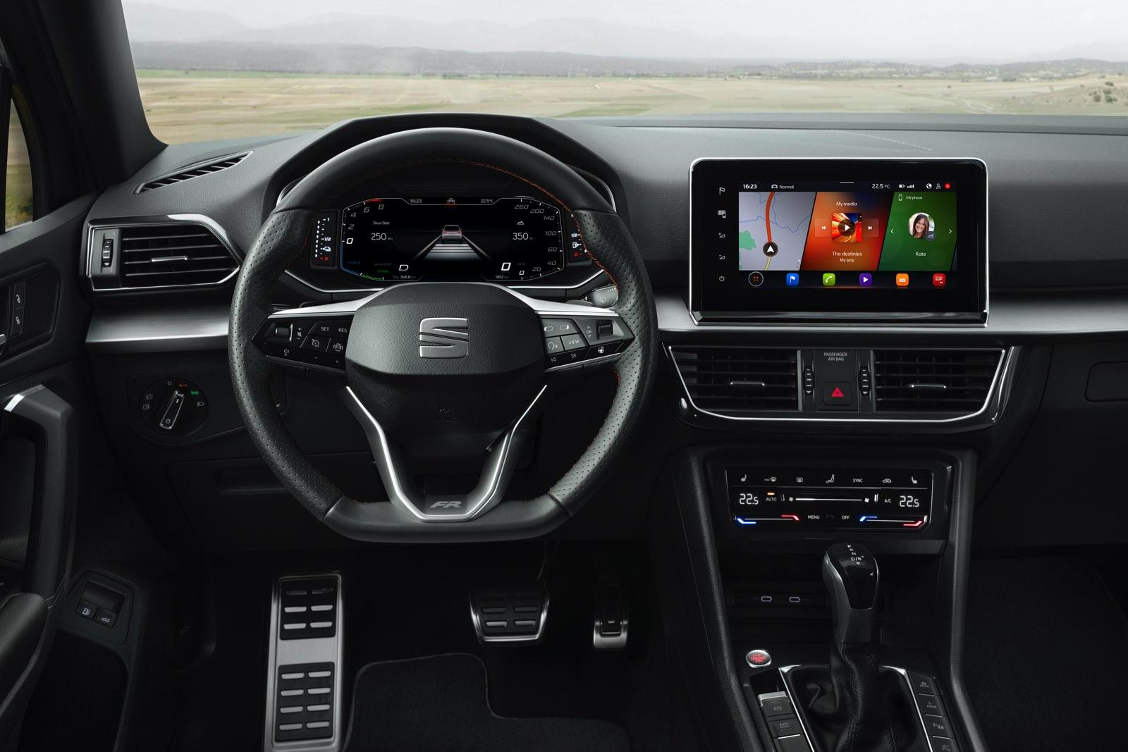 Seat Tarraco e-Hybrid, híbrido enchufable