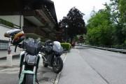 Viajar en moto eléctrica España Suiza
