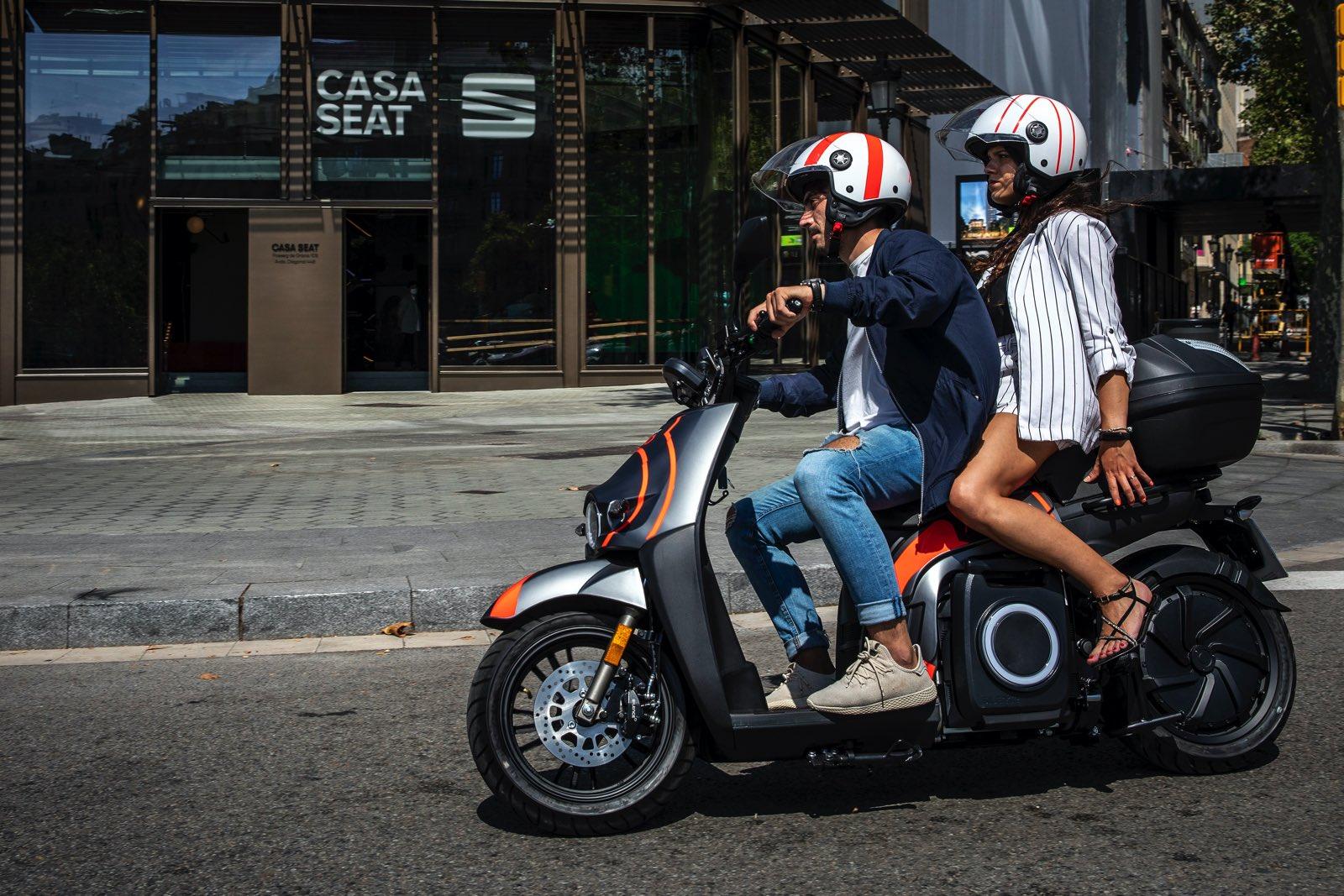 Seat Mó motosharing