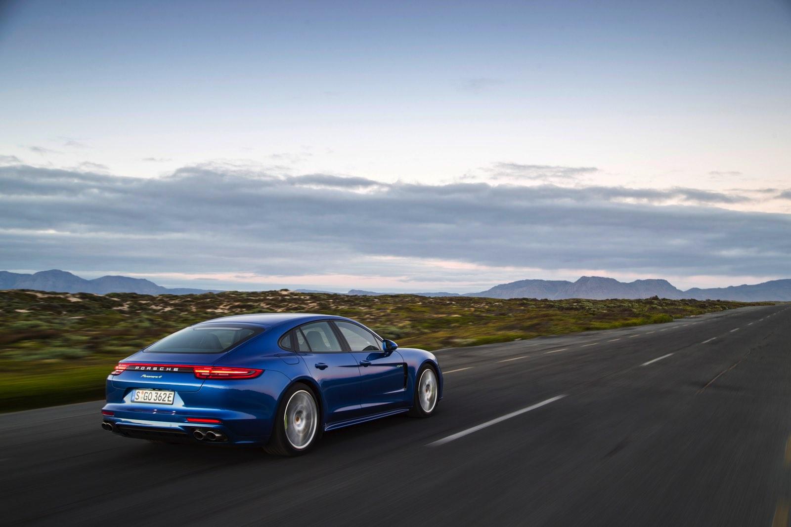 Prueba de consumo Porsche Panamera