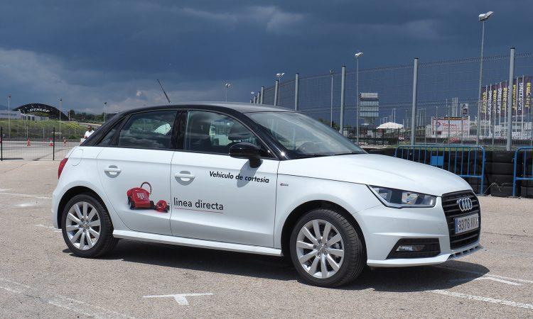 Linea Directa coche de cortesía Audi A1
