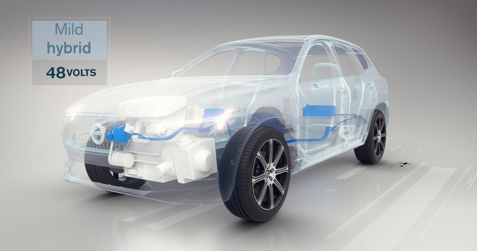Mild Hybrid de Volvo