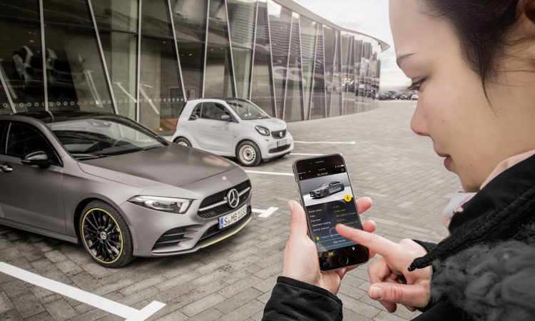 Carsharing Mercedes-Benz Clase A y carsharing smart EQ