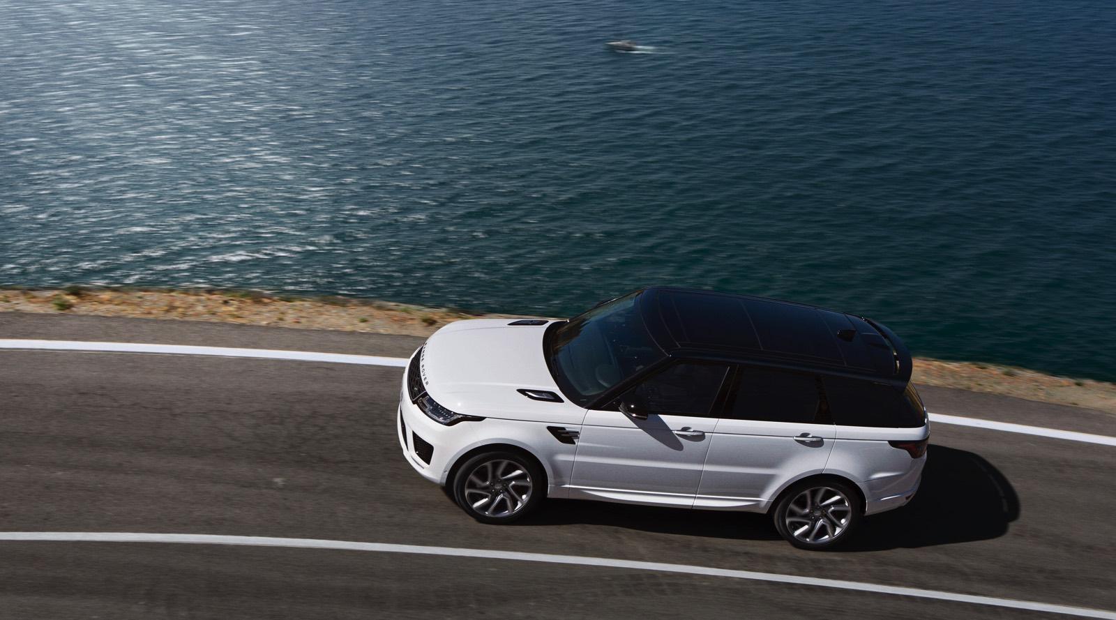Coches hibridos enchufables con mas maletero Range Rover Sport PHEV