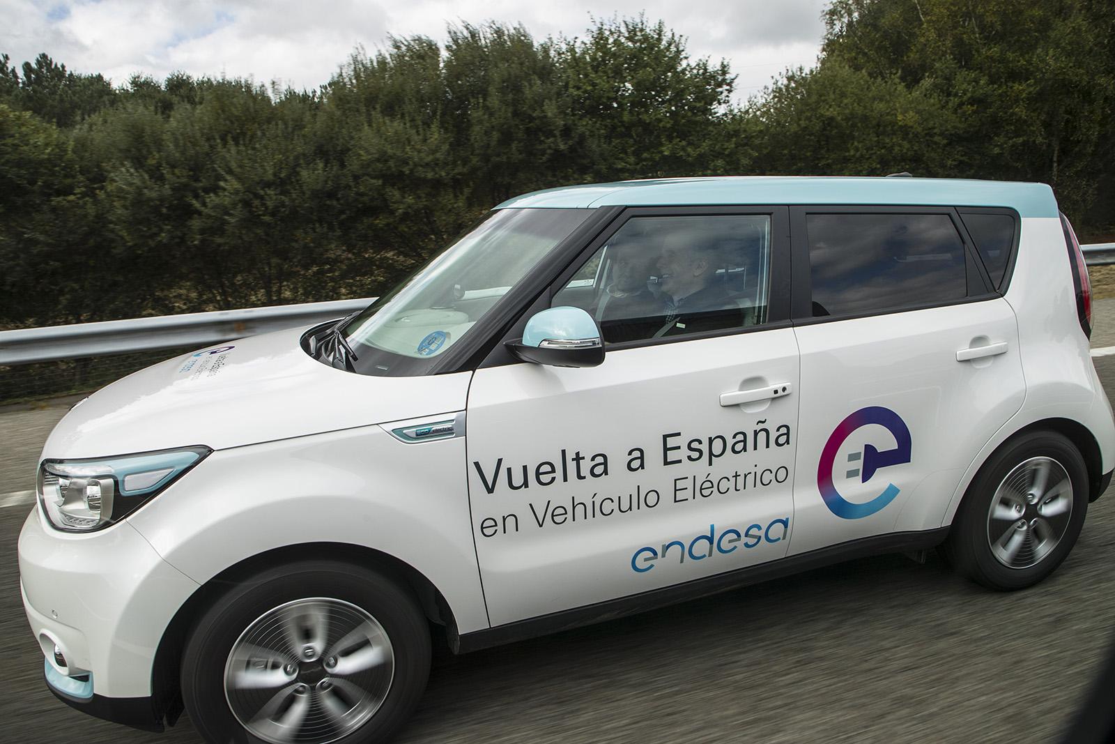 Vuelta a España en coche electrico