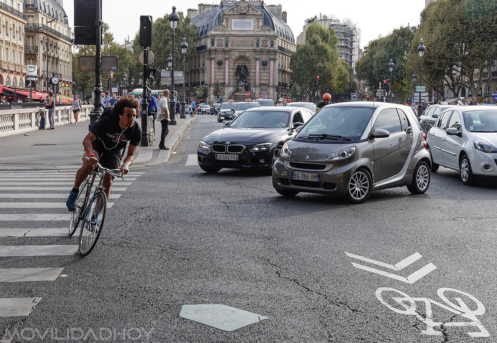 Desplazamientos en bicicleta
