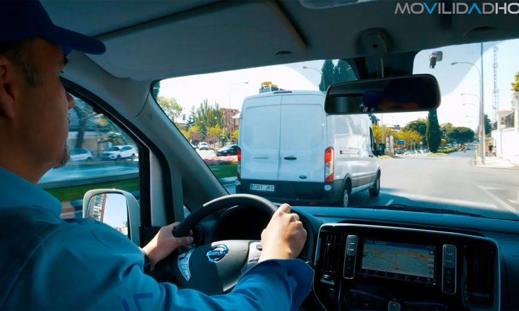 Furgoneta electrica Nissan eNV200