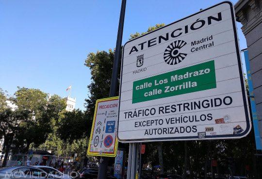 Madrid Central, zona de bajas emisiones