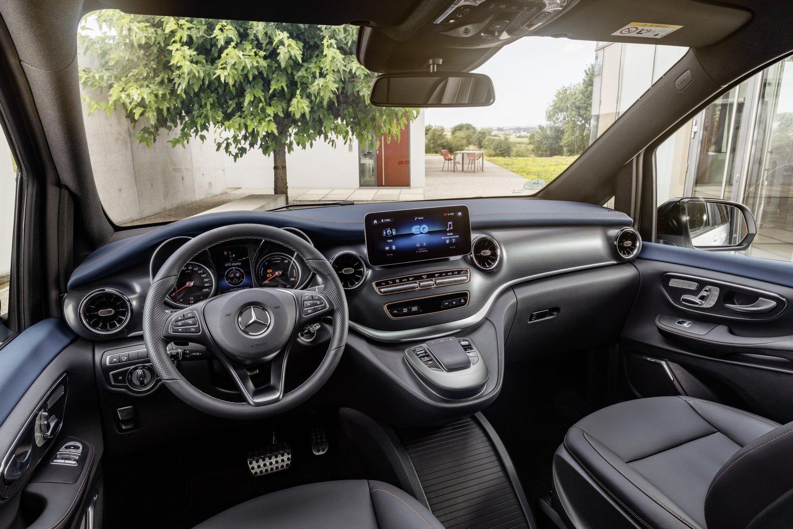 Interior Mercedes-Benz EQV