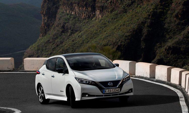 Nissan Leaf prueba