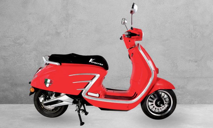 Ebroh Veracruz, scooter eléctrico