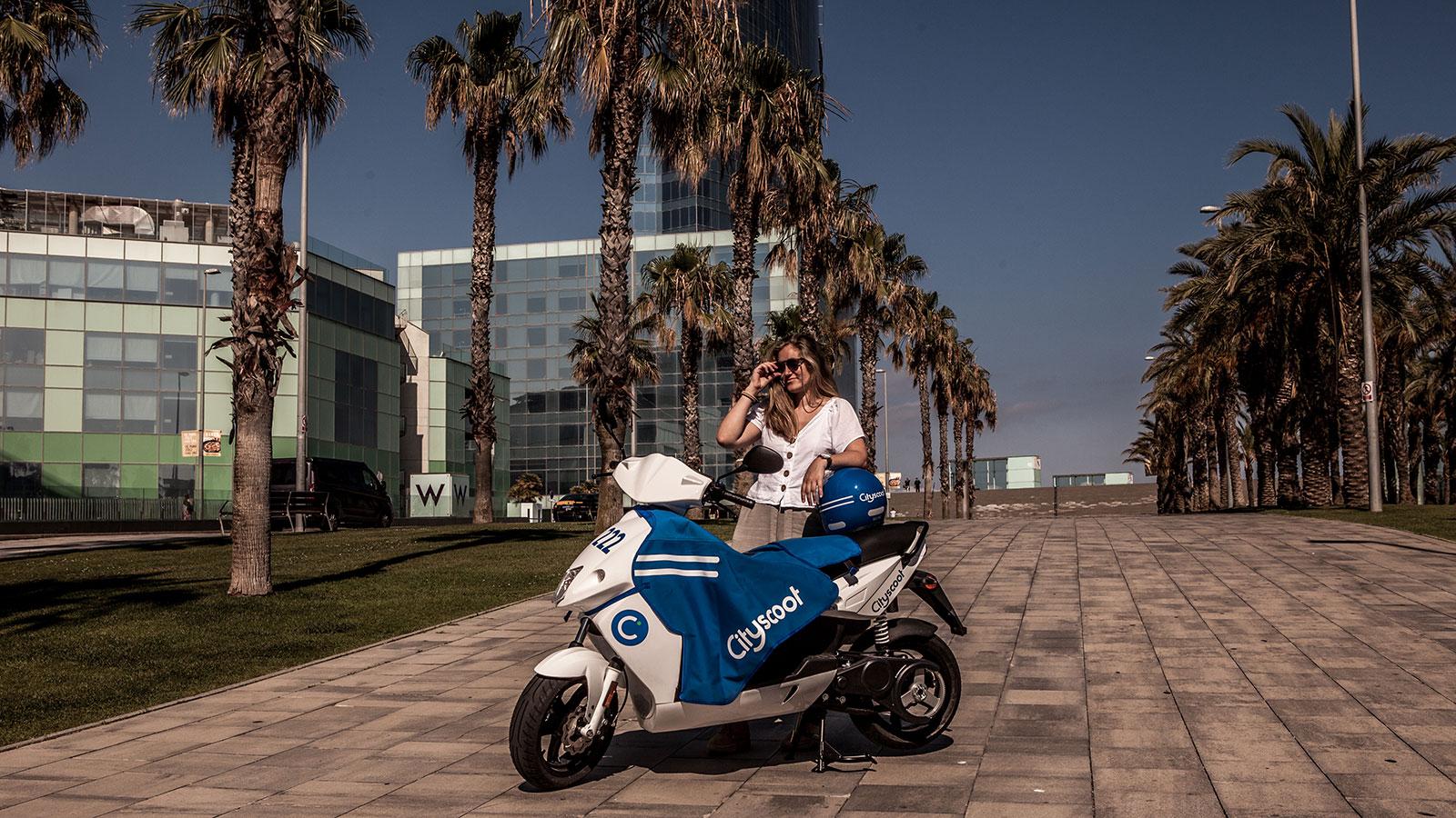 Cityscoot motosharing