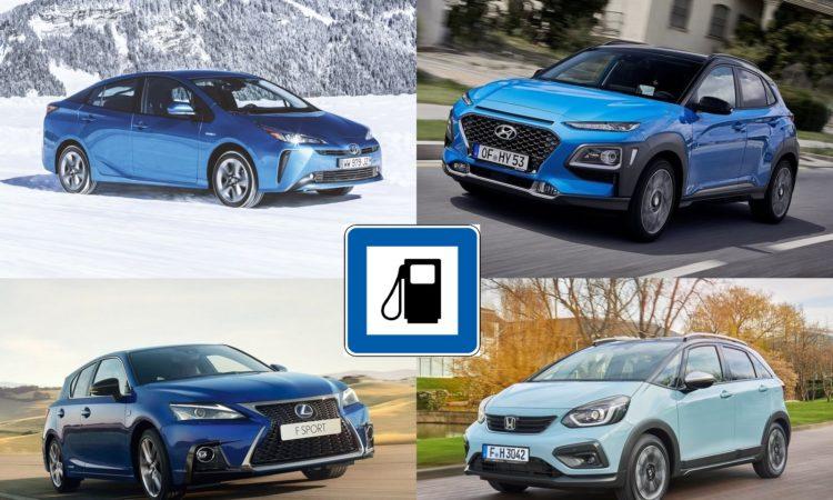 Mejores coches híbridos por consumo