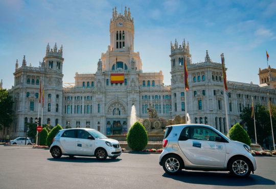 Carsharing Share Now en Madrid