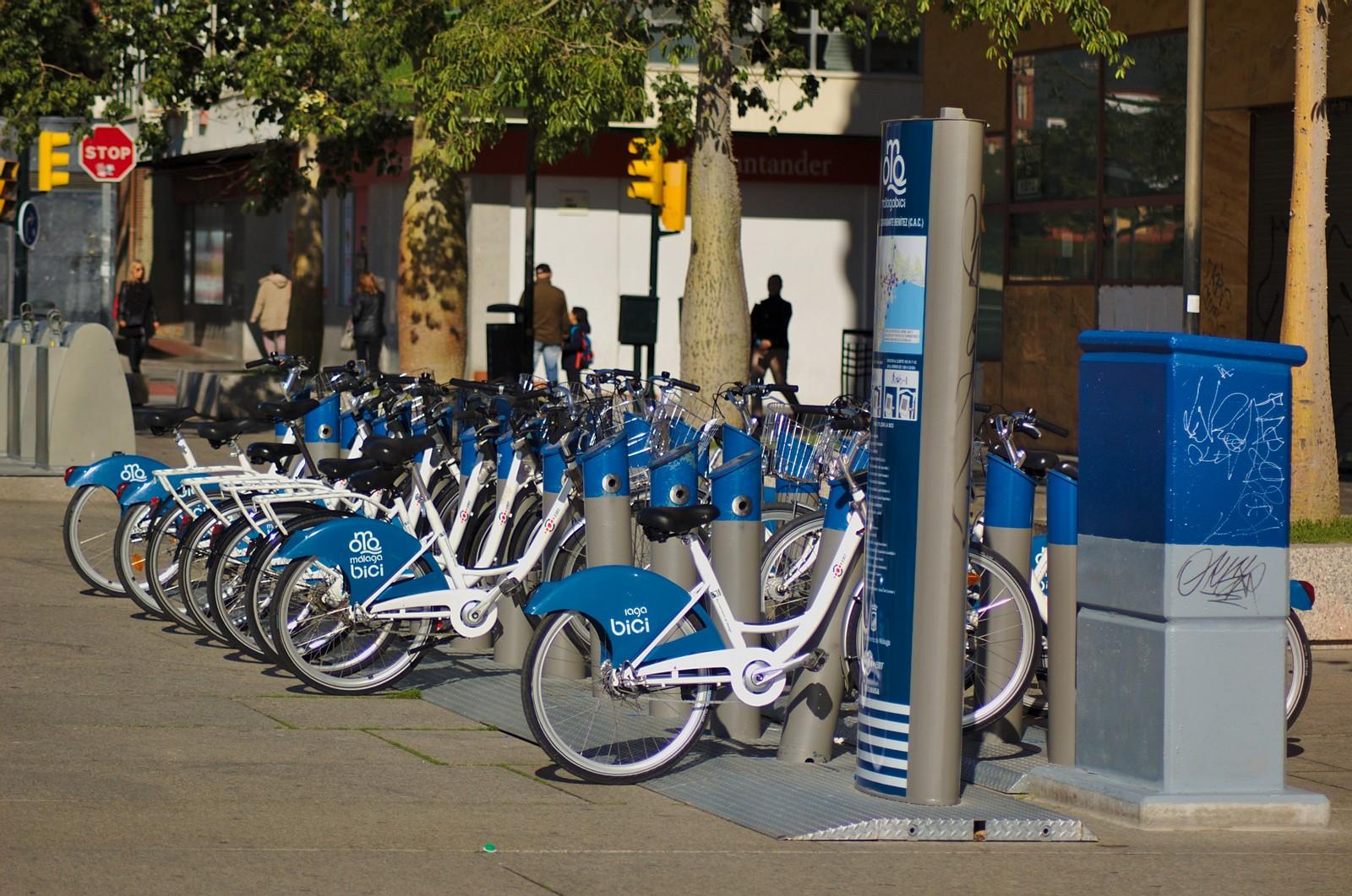 Alquiler de bicicletas compartidas