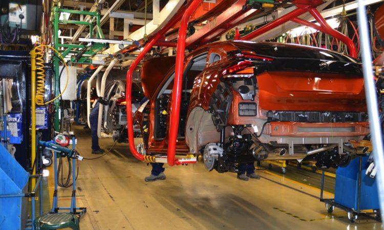 Fábrica de coches de Stellantis en Madrid