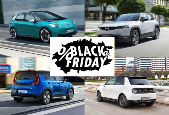 Ofertas Black Friday coches etiqueta eco y cero