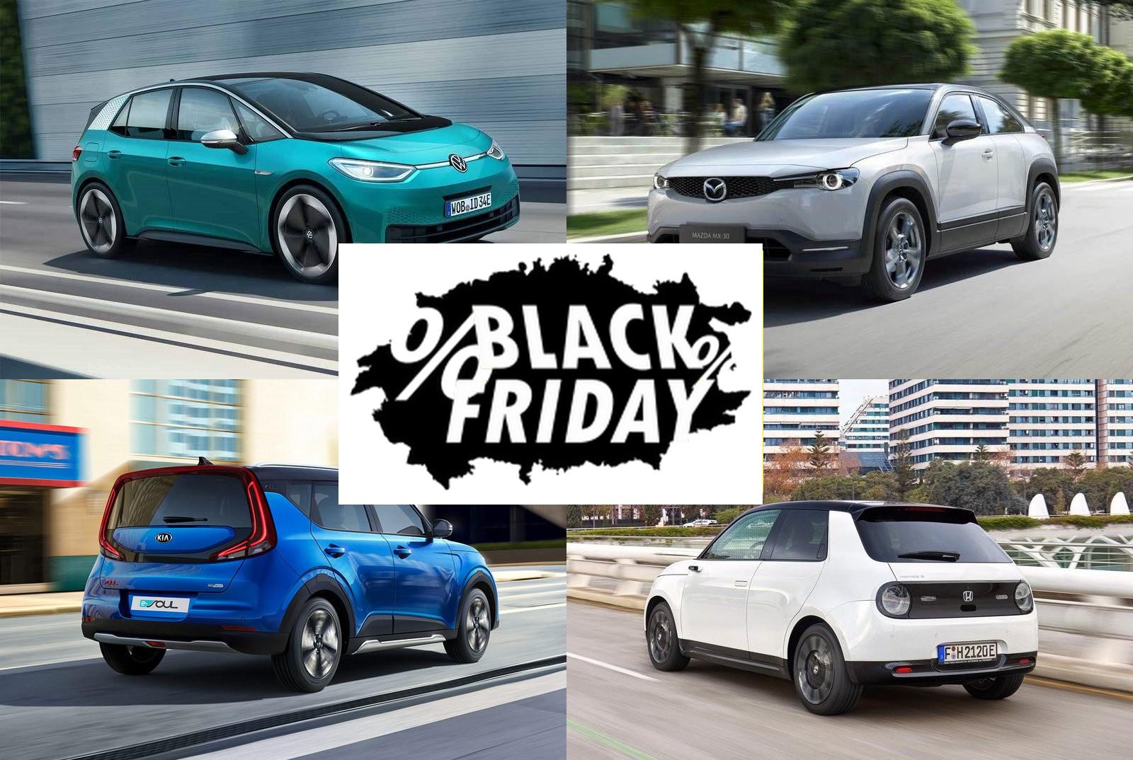 Ofertas Black Friday coches etiqueta eco y cero