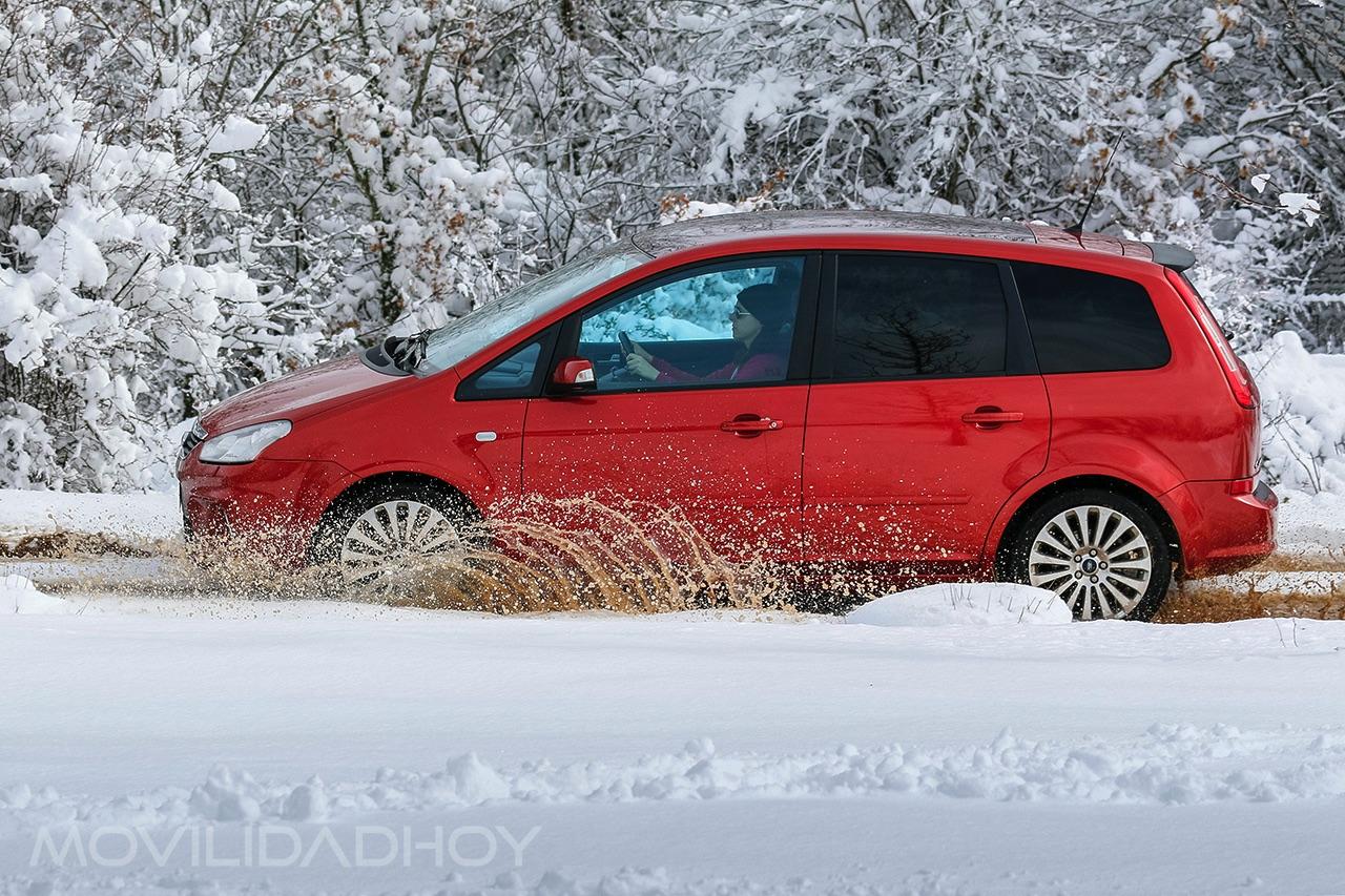 Conducir sobre nieve