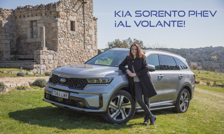 Kia Sorento PHEV prueba de contacto en video