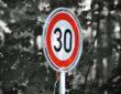 Nuevas calles 30. Se reducen los límites de velocidad.