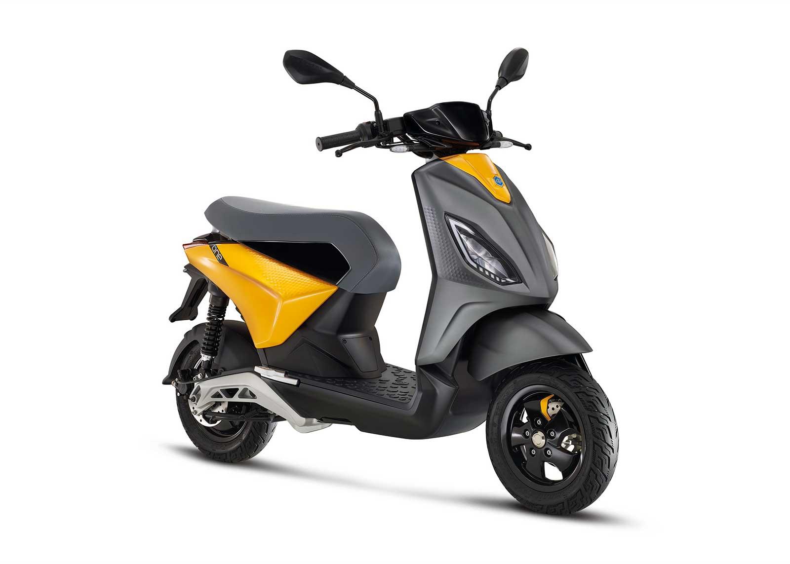 Piaggio One, scooter eléctrico para jóvenes