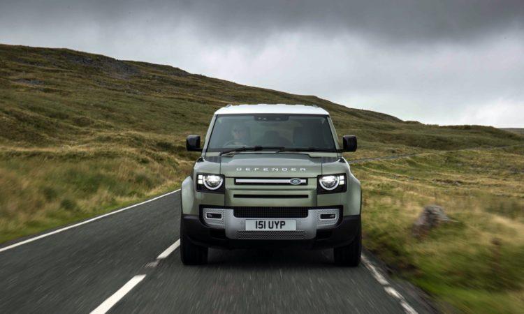 Land Rover Defender de hidrógeno
