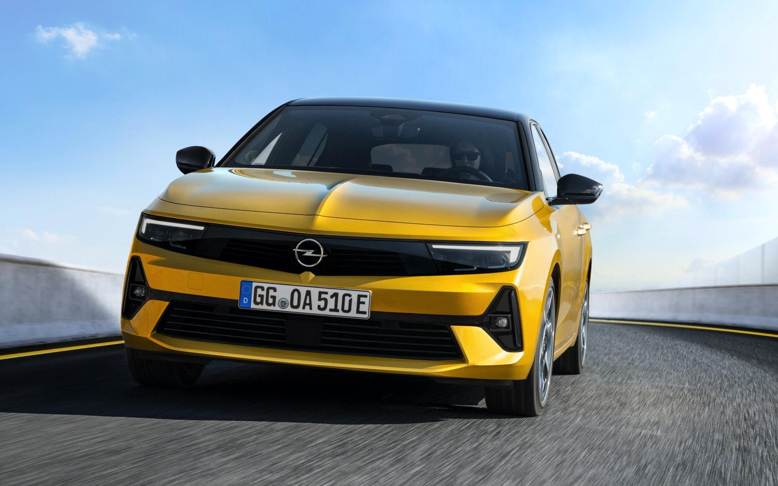 Nuevo Opel Astra PHEV