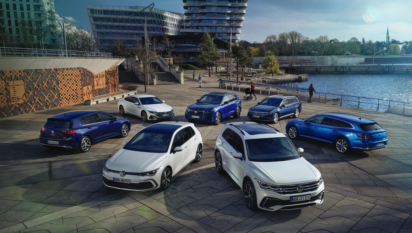 Gama PHEV de Volkswagen