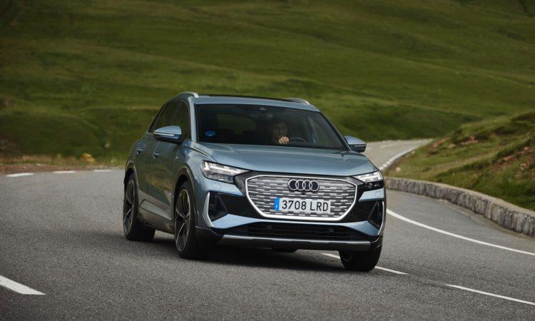 Audi Q4 e-tron prueba