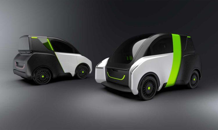Cuadriciclo eléctrico e-Miles prototipo
