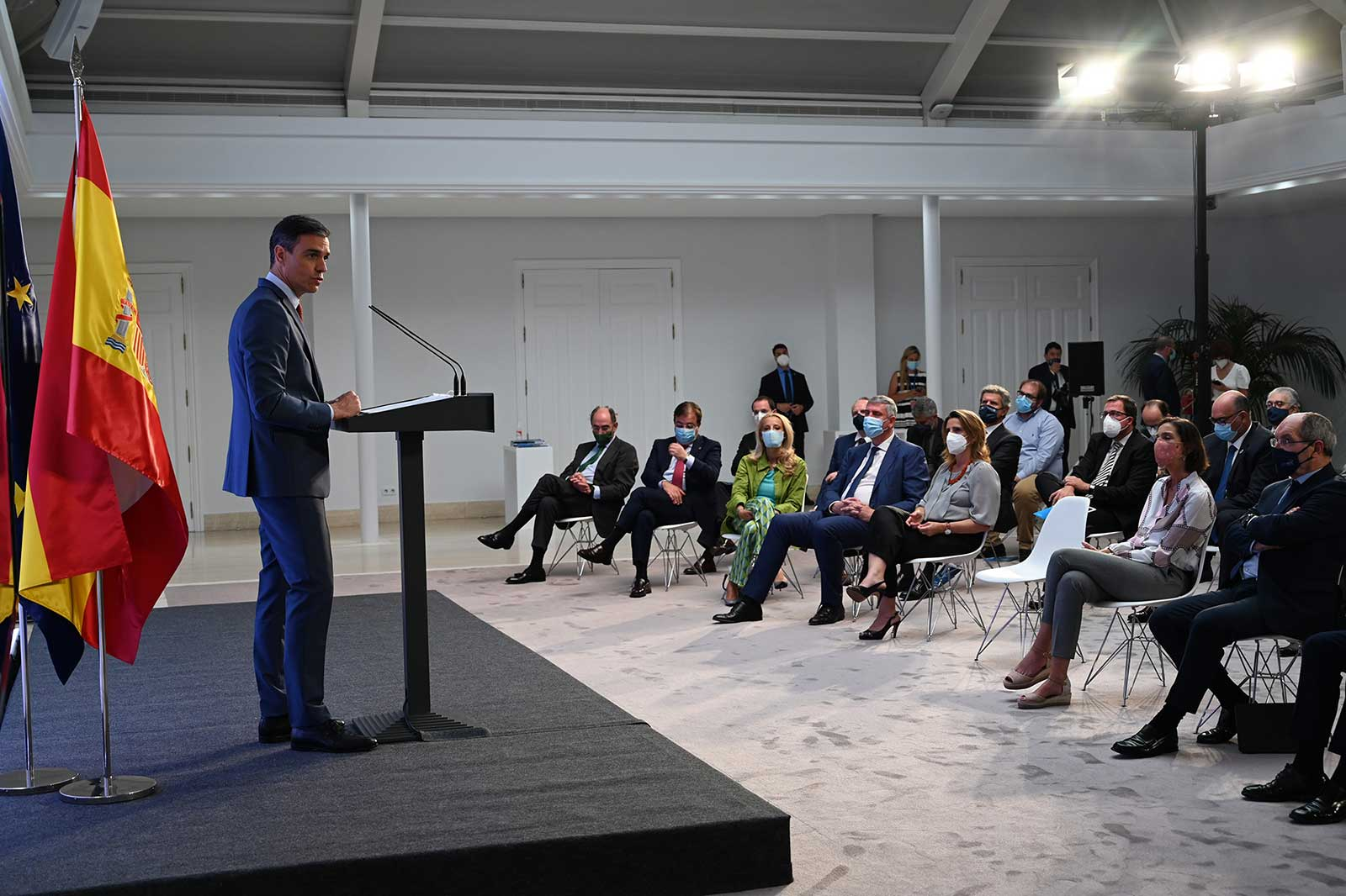 Presentación Proyecto Estratégico para la Recuperación y Transformación Económica (PERTE) del vehículo eléctrico y conectado.