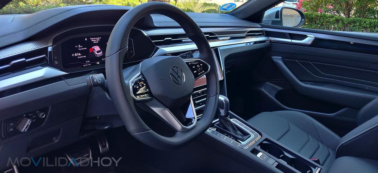 Volkswagen Arteon PHEV interior