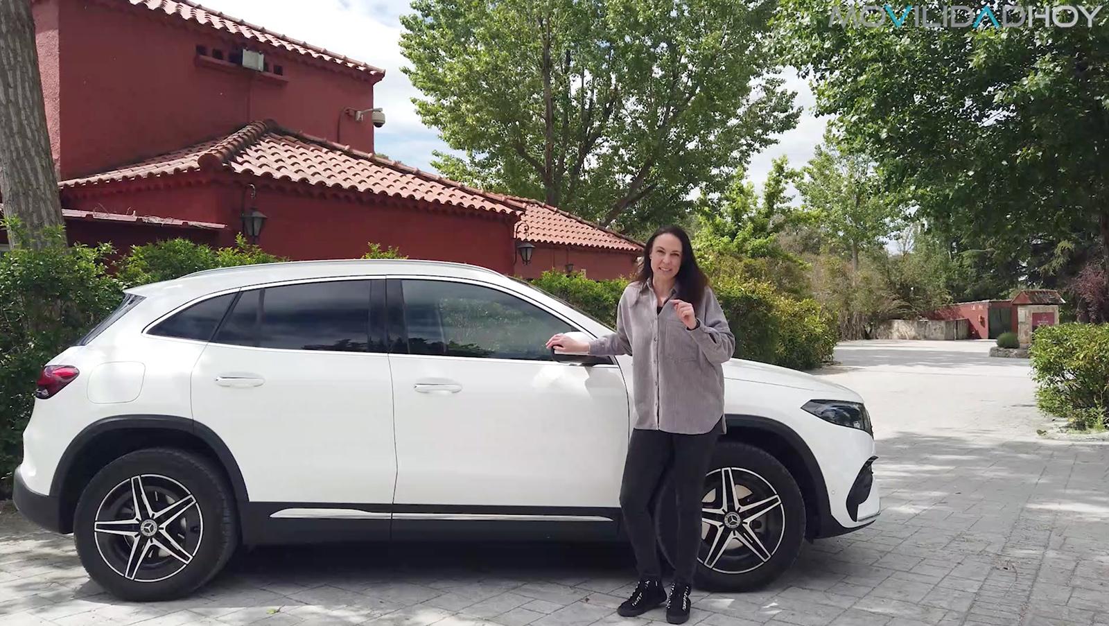 Mercedes-Benz EQA prueba de contacto