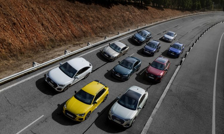 Gama PHEV de Audi