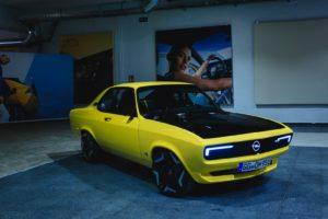 Opel Manta eléctrico